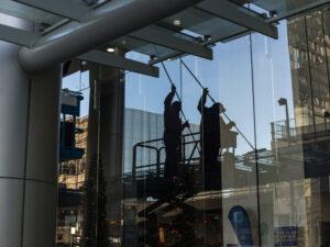 Fensterreinigung Bürogebäude