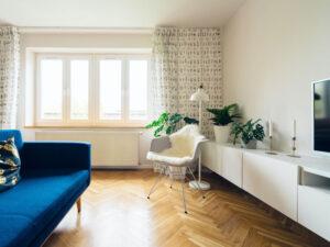 Sauberes Wohnzimmer