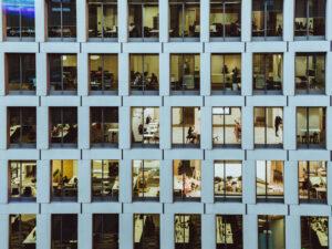Bürogebäude Aussenansicht